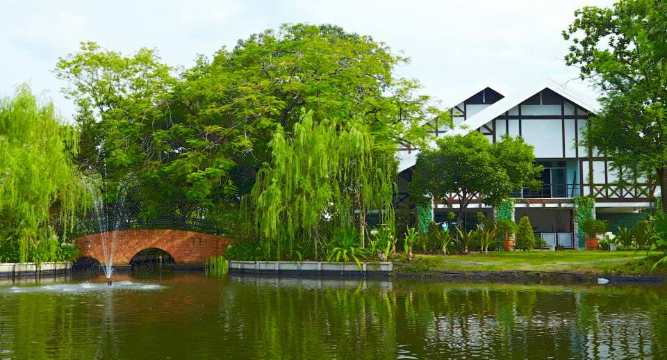 สถานที่จัดงานแต่งงานในสวน